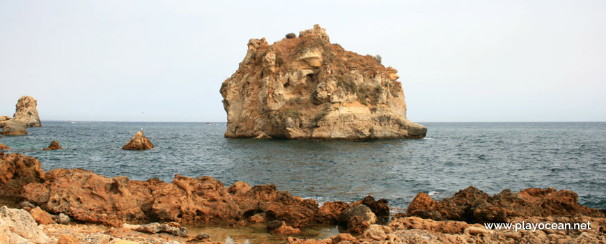 Islet of Praia do Arrifão Beach