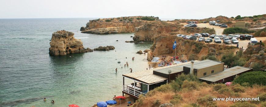 Parking of Praia de Arrifes Beach