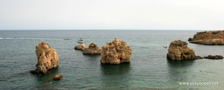 Three Rocks, Praia de Arrifes Beach