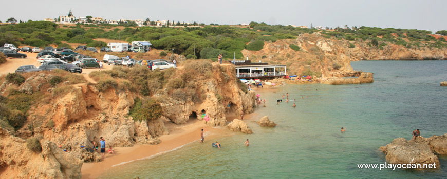 Panoramic of Praia de Arrifes Beach