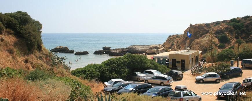 Estacionamento, Praia dos Aveiros