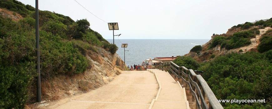 Escadaria da Praia da Coelha