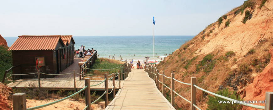 Access to Praia da Falésia (Alfamar) Beach