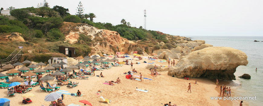 East at Praia da Galé (East) Beach