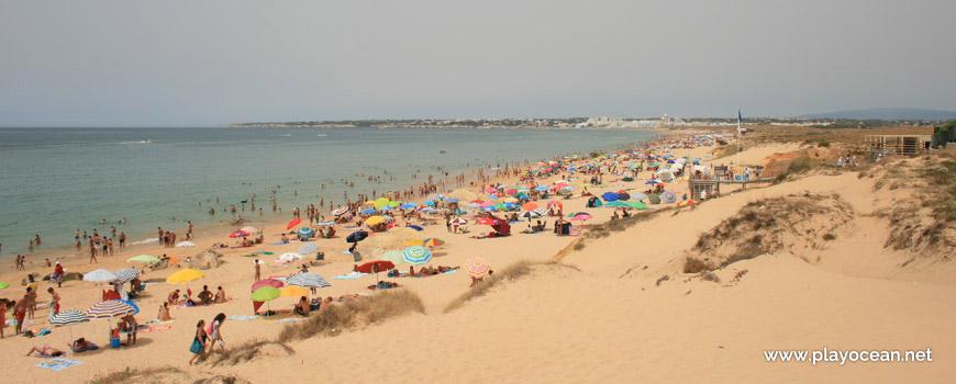 West at Praia da Galé (West) Beach
