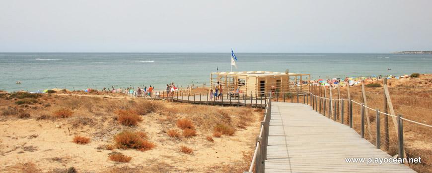Access to Praia da Galé (West) Beach