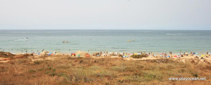 Sea at Praia da Galé (West) Beach