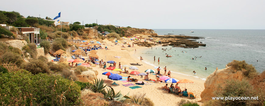 East at Praia de Manuel Lourenço Beach