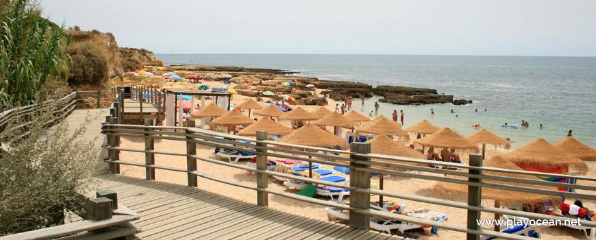 Access to Praia de Manuel Lourenço Beach