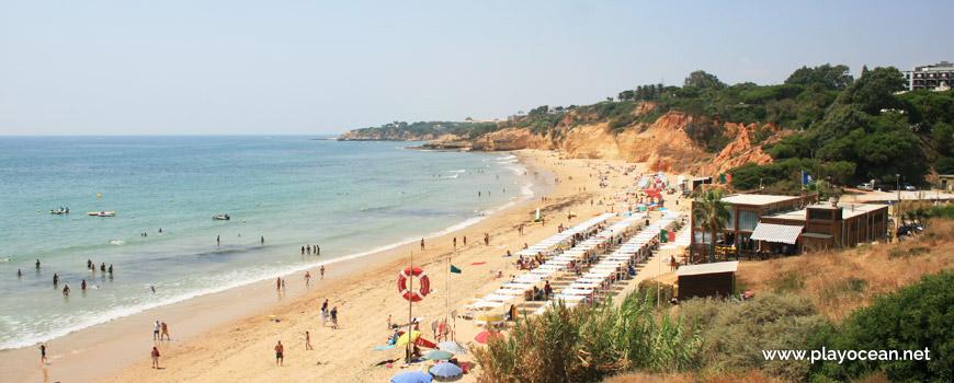 Panoramic of Praia Maria Luísa Beach