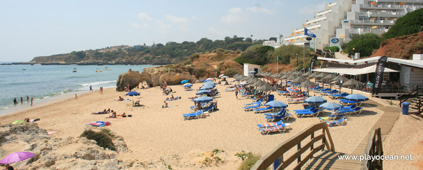 West at Praia da Oura (East) Beach