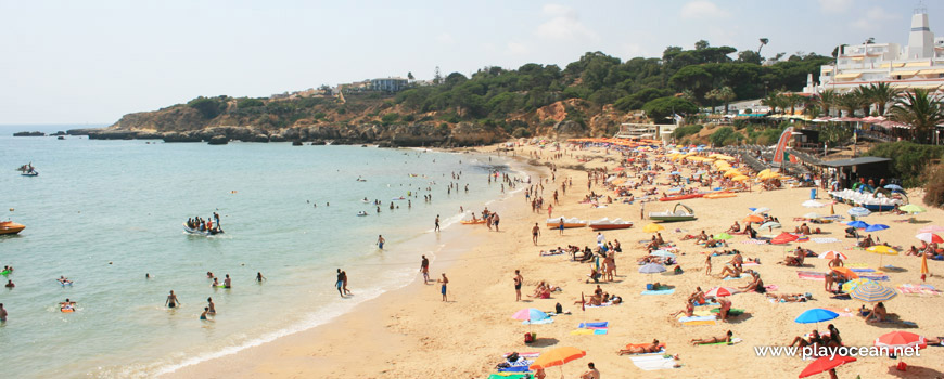 West at Praia da Oura Beach