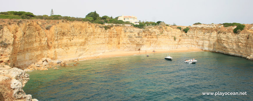 Panoramic of Praia da Ponta Grande Beach