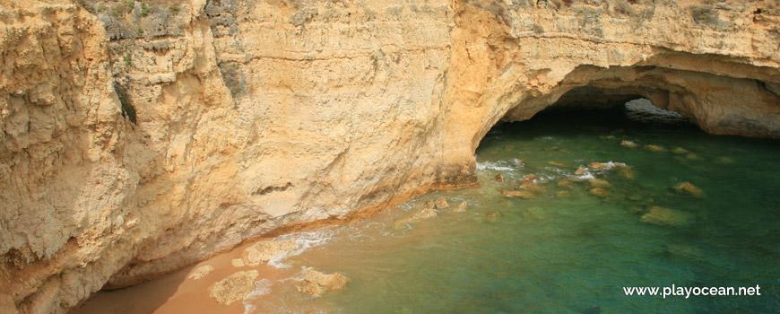Cave at Praia da Ponta Pequena Beach