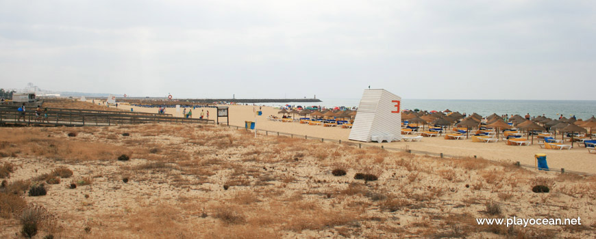 Praia da Rocha Baixinha (Nascente)