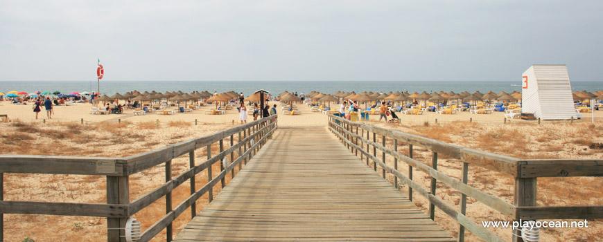 Access to Praia da Rocha Baixinha (East) Beach