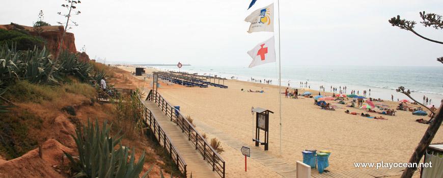 Estandarte da Praia da Rocha Baixinha (Poente)