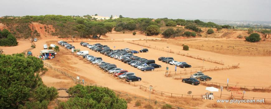 Estacionamento da Praia da Rocha Baixinha (Poente)