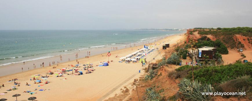 Vista sobre a Praia da Rocha Baixinha (Poente)