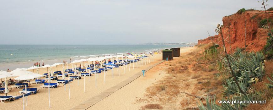 Oeste na Praia da Rocha Baixinha (Poente)