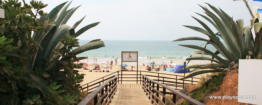 Acesso à Praia da Rocha Baixinha (Poente)