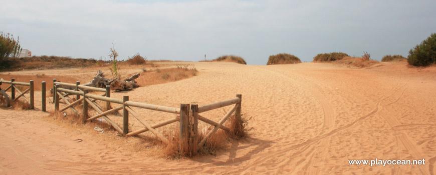 Acesso, Praia da Rocha Baixinha