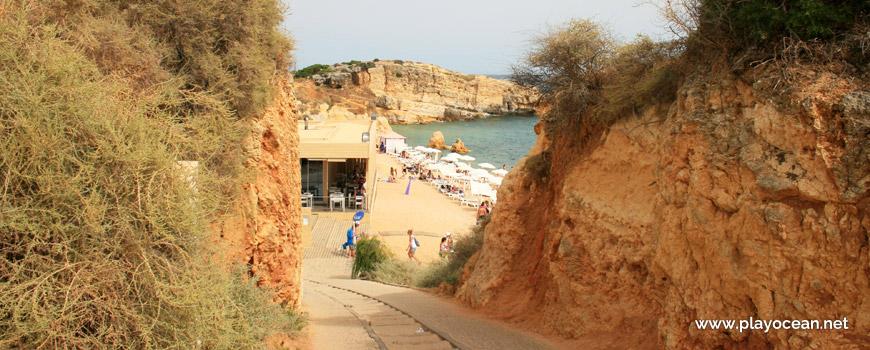 Access to Praia de São Rafael Beach