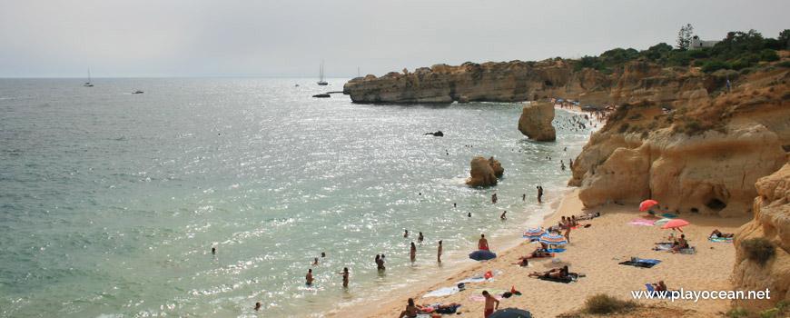 Bathing area, Praia de São Rafael Beach