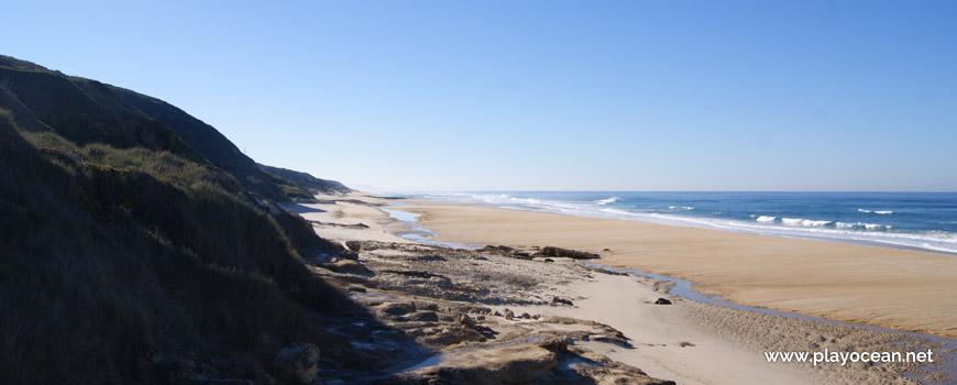 Sul da Praia das Águas Luxuosas