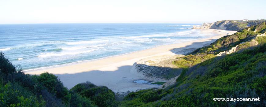 Panorâmica da Praia da Mina