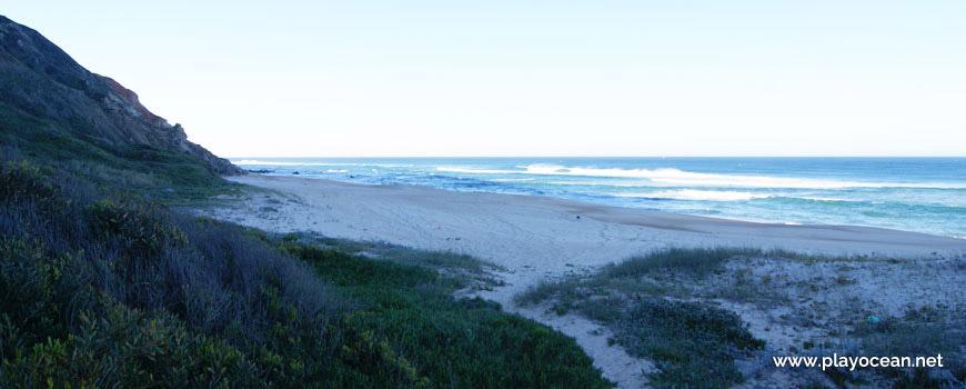 Sul da Praia da Mina