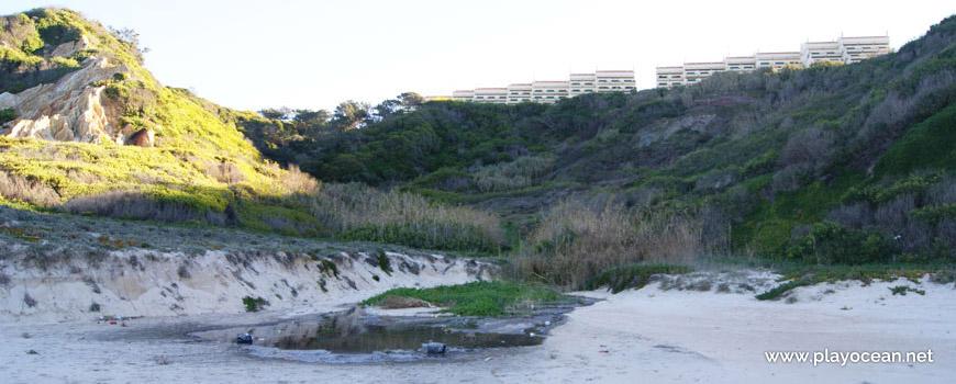 Falésia na Praia da Mina