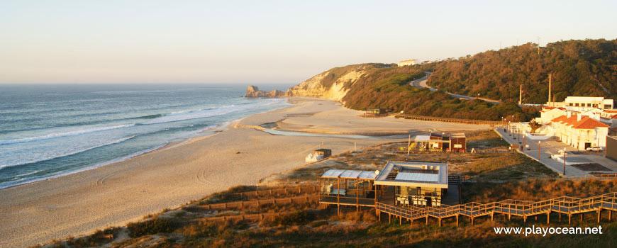 Praia de Paredes da Vitória Beach