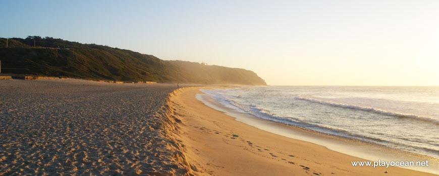 South of Praia de Paredes da Vitória Beach