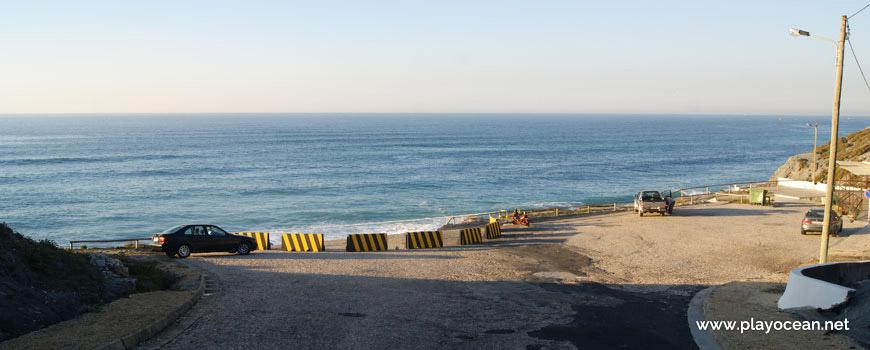 Estacionamento, Praia da Pedra do Ouro