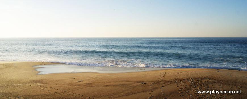 Sea at Praia da Pedra do Ouro Beach