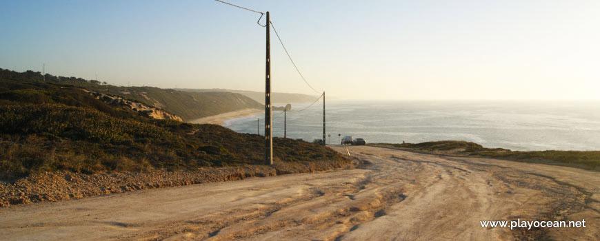 Caminho para a Praia da Polvoeira