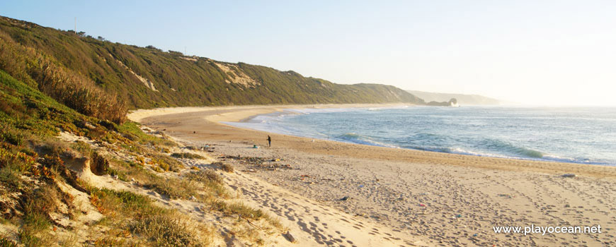 Sul da Praia da Polvoeira