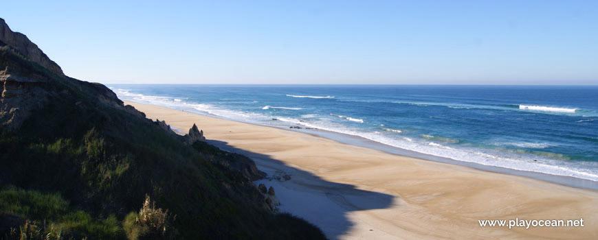 Areal da Praia de Vale Pardo