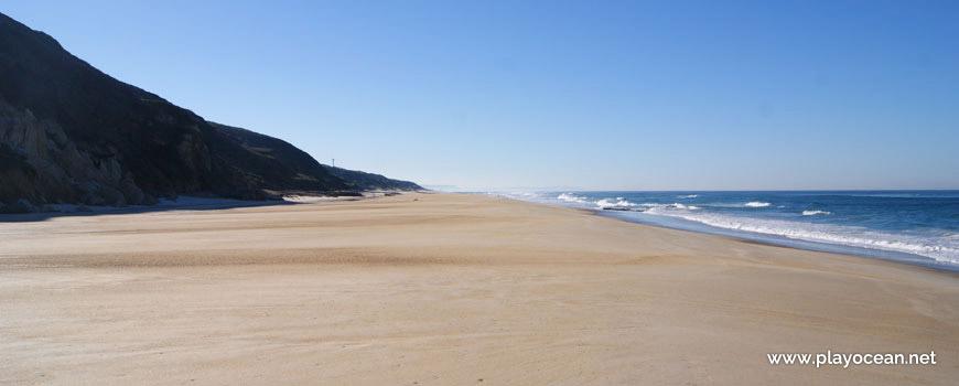 Sul da Praia de Vale Pardo