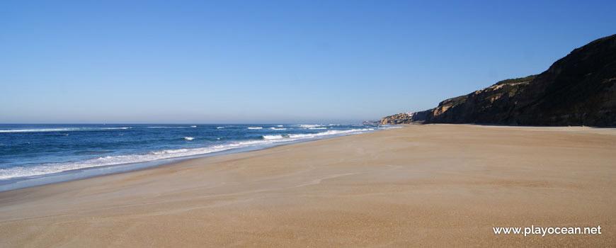 Norte da Praia de Vale Pardo