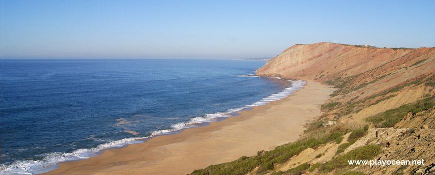 Panorâmica da Praia da Gralha