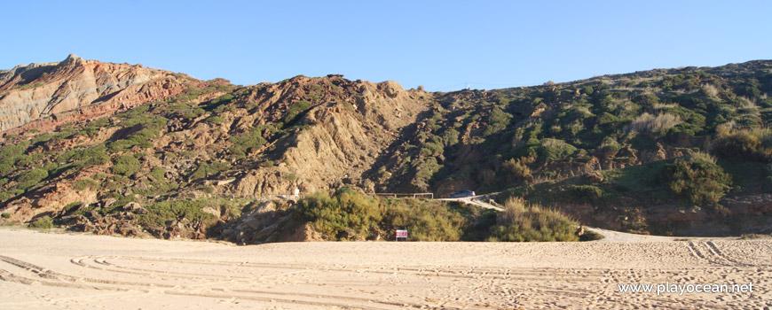 Falésia, Praia da Gralha