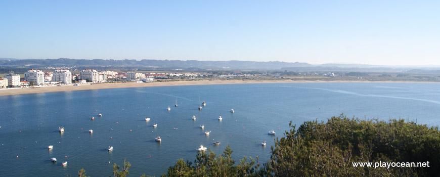 Panorâmica da Praia de São Martinho do Porto