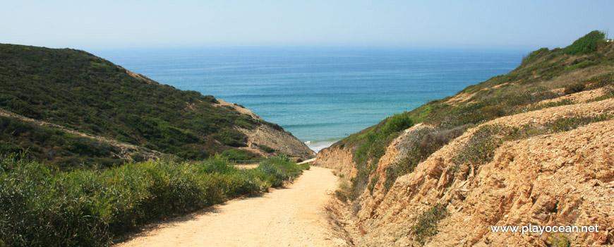 Estrada da Praia das Adegas