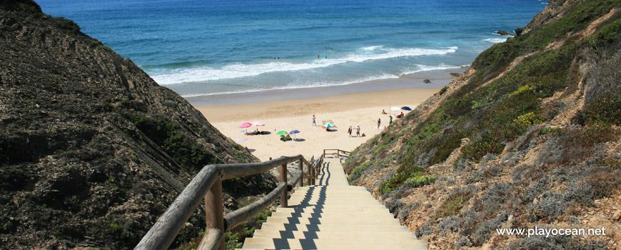 Escadaria da Praia das Adegas