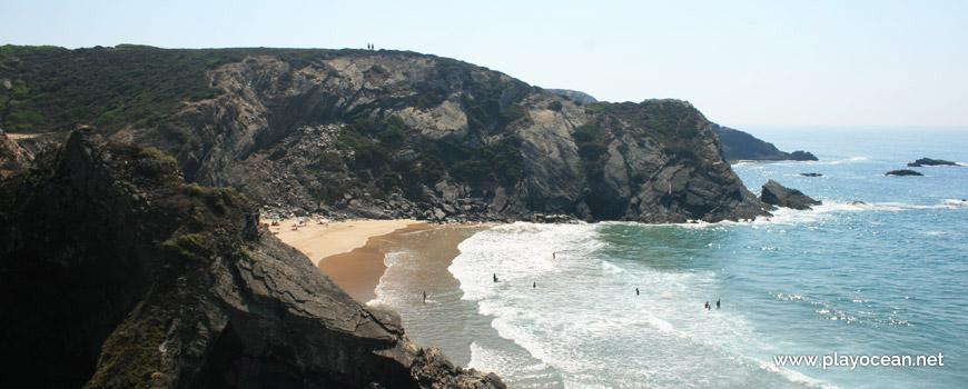 Zona de banhos, Praia das Adegas