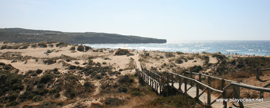 Access to Praia da Amoreira (Sea) Beach