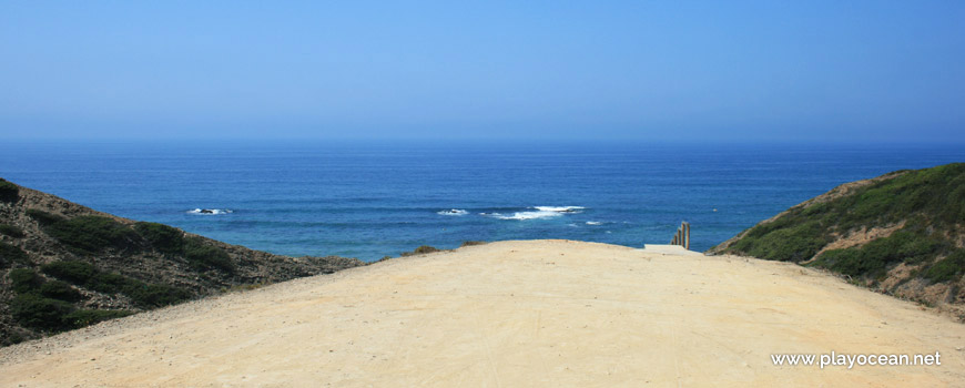 Entrada, Praia da Barradinha