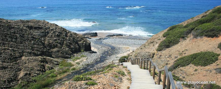 Descida à Praia da Barradinha